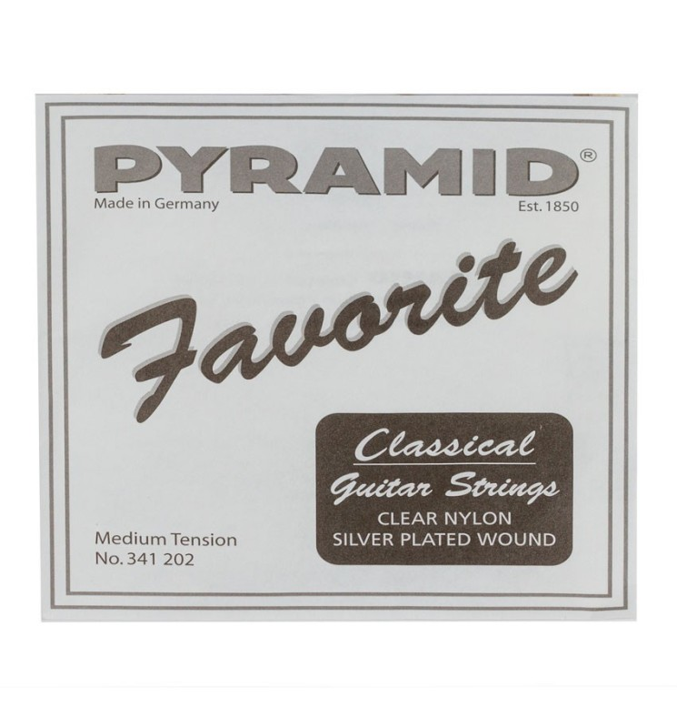 Konzertgitarren Saiten Pyramid Favorite D-4