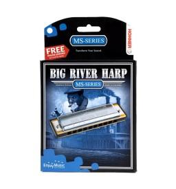 Mundharmonika Hohner Big River Harp A-Dur