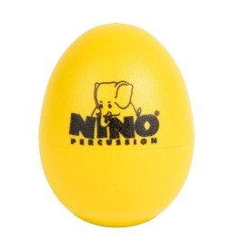 Nino Percussion 540 Egg Shaker gelb