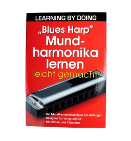 Notenheft - Blues Harp Mundharmonika lernen