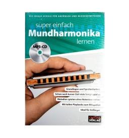 Notenheft - Super einfach Mundharmonika lernen