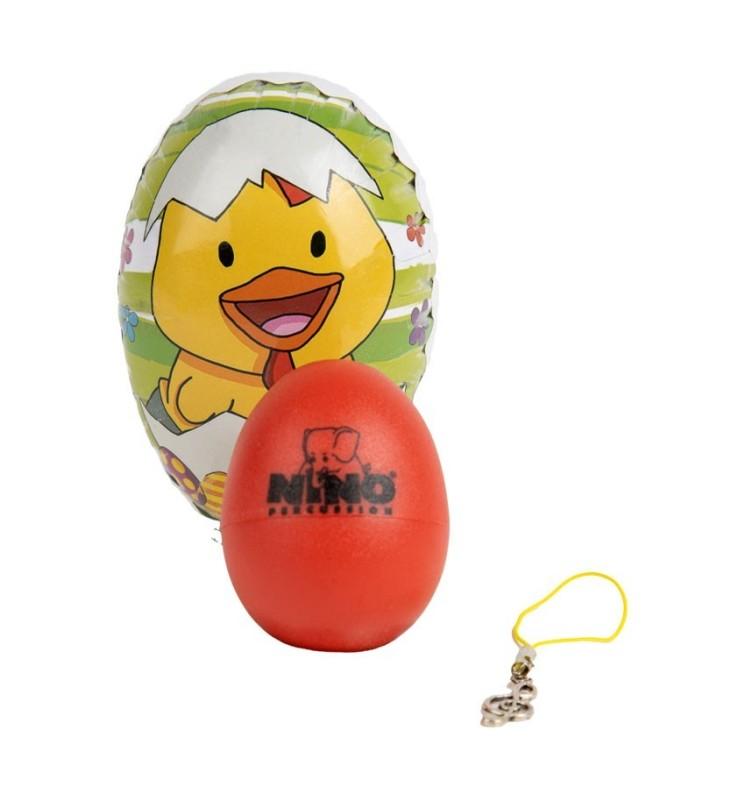 Nino Percussion 540 Egg Shaker rot