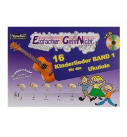 Notenheft - Kinderlieder für Ukulele