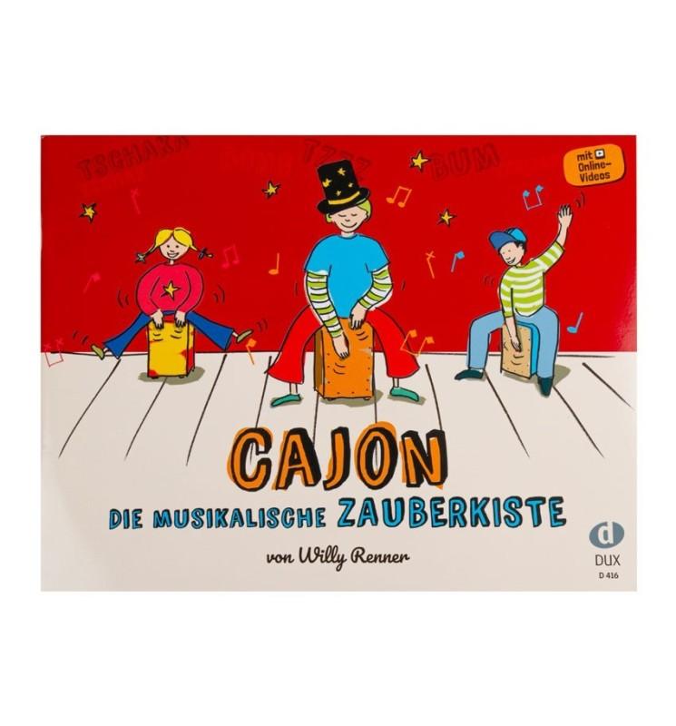 Notenheft Cajon - Die musikalische Zauberkiste