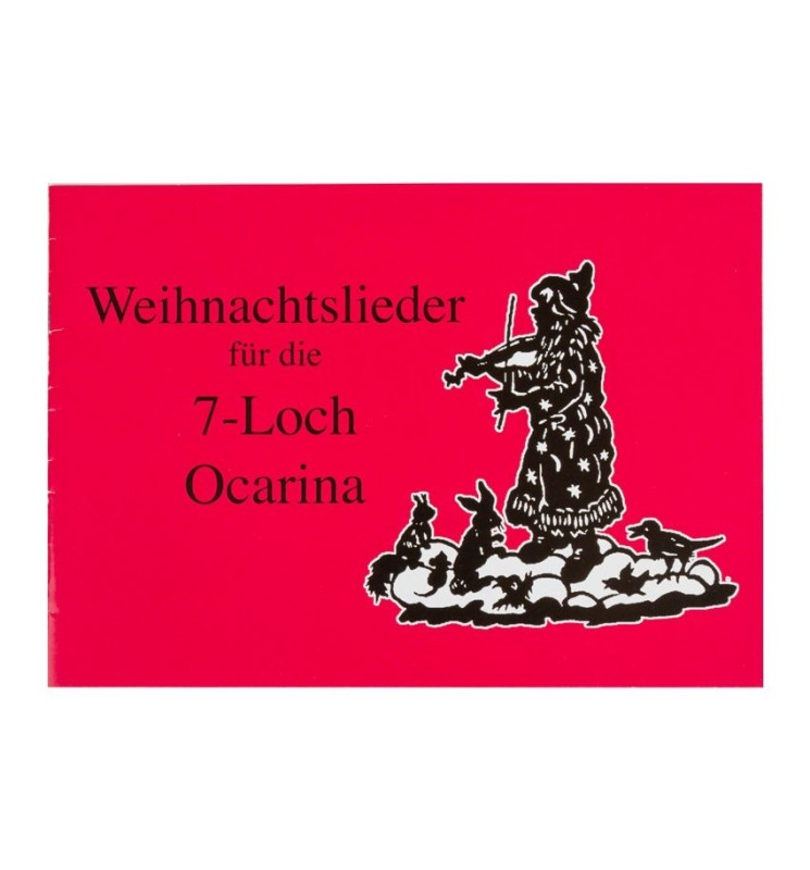 Notenheft Ocarina - Weihnachtslieder für 7-Loch