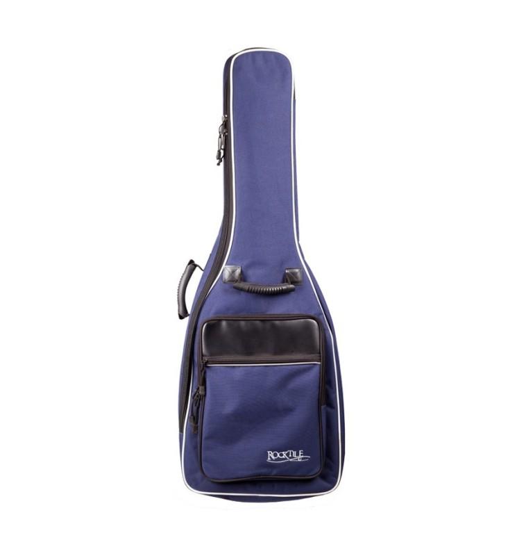 Gitarrentasche Rocktile Bag 4/4 blau für Akustikgitarren