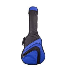 Gitarrentasche MSA GB700 4/4 blau für Akustikgitarren