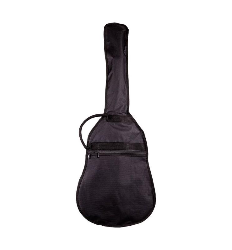 Gitarrentasche TA78 4/4 schwarz für Akustikgitarren