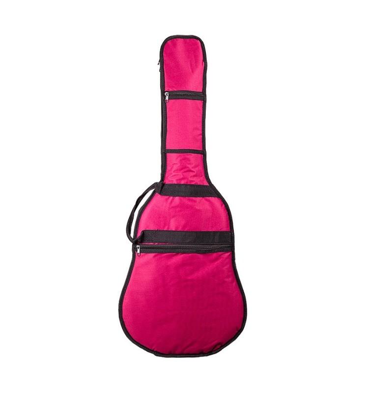 Gitarrentasche MSA GB36 1/2 rot für Konzertgitarren