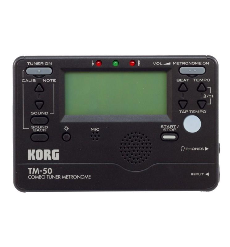 Stimmgerät Korg TM-50 schwarz