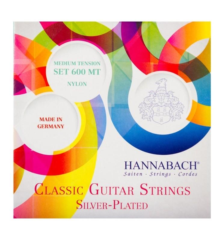 Konzertgitarren Saiten Hannabach 815LT grün