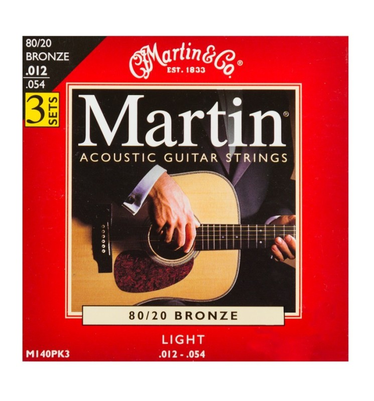Westerngitarren Saiten Martin M140