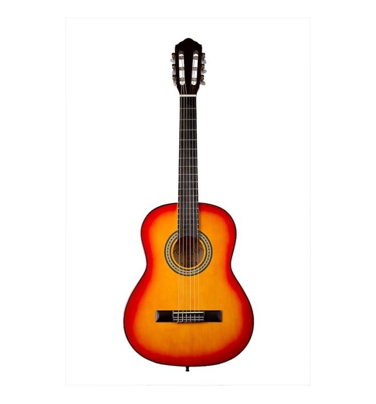 Konzertgitarre 3/4 MSA sunburst