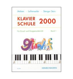 Notenheft Klavierschule 2000