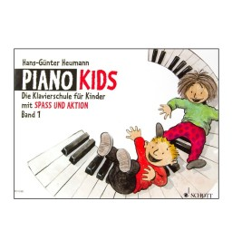 Notenheft Piano Kids - Band 1