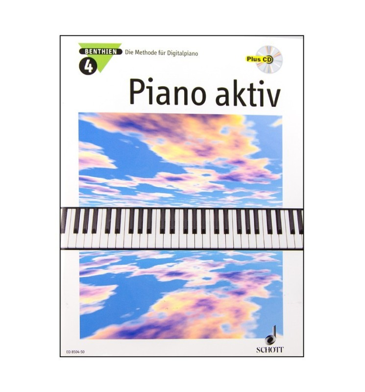 Notenheft Piano aktiv