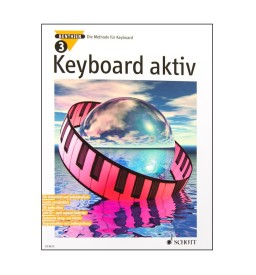 Notenheft Keyboard aktiv Nr. 3