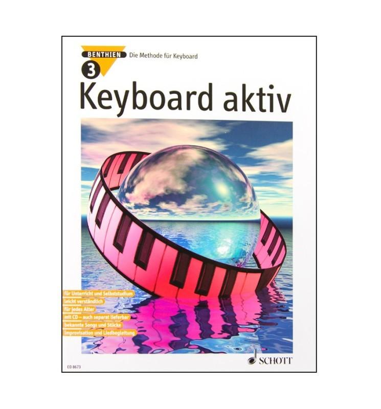 Notenheft Keyboard aktiv Nr. 3