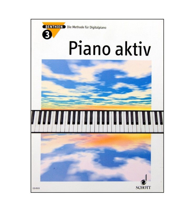 Notenheft Piano aktiv Nr. 3