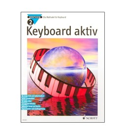 Notenheft Keyboard aktiv Nr. 2