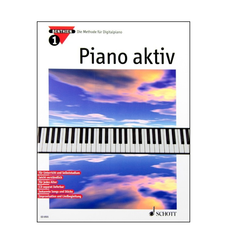 Notenheft Piano aktiv Nr. 3