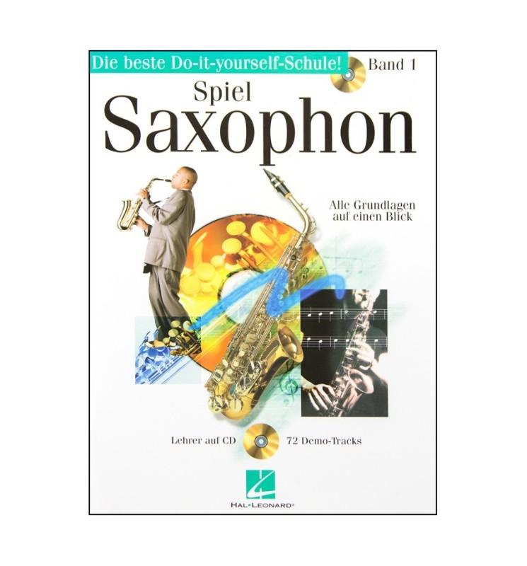 Notenheft Spiel Saxophon Band 1