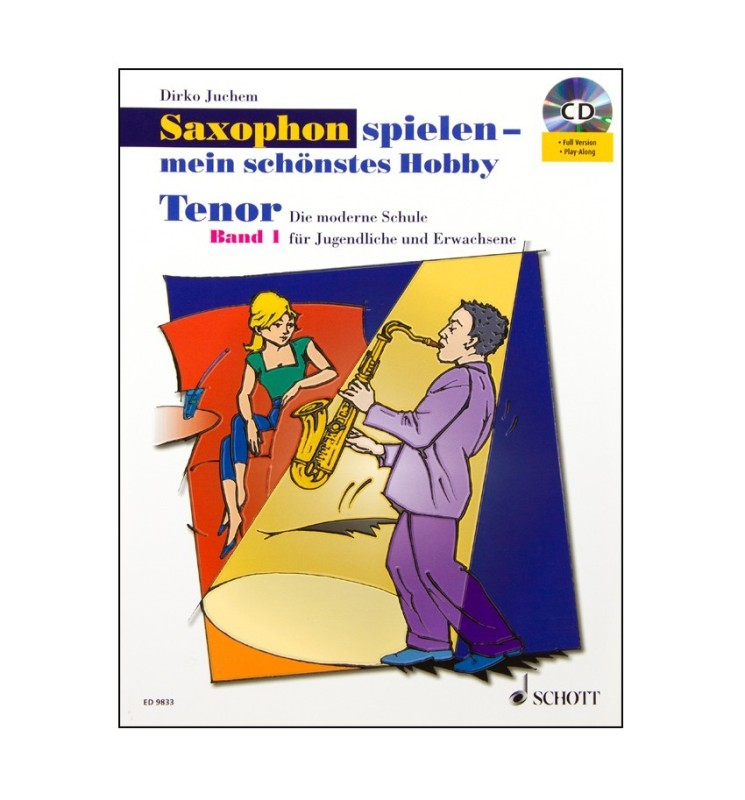 Notenheft Saxophon Tenor Band 1