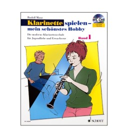 Notenheft Klarinette spielen - Band 1