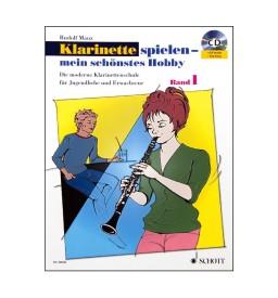 Notenheft Klarinette spielen - Band 1