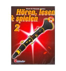 Notenheft Klarinette Hören, lesen & spielen - Band 2