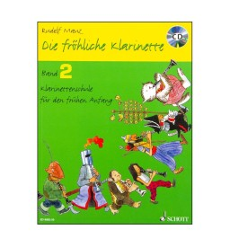 Notenheft Klarinette Hören, lesen & spielen - Band1