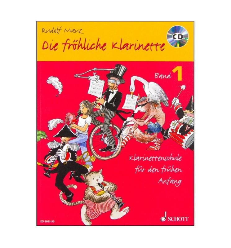 Notenheft Die fröhliche Klarinette - Band 1