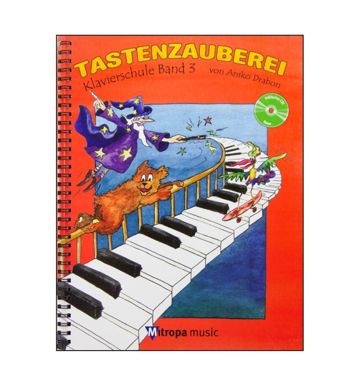 Notenheft Klavierschule Tastenzauberei - Band 3