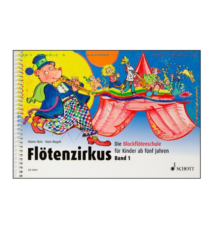 Notenheft Flötenzirkus Band 1