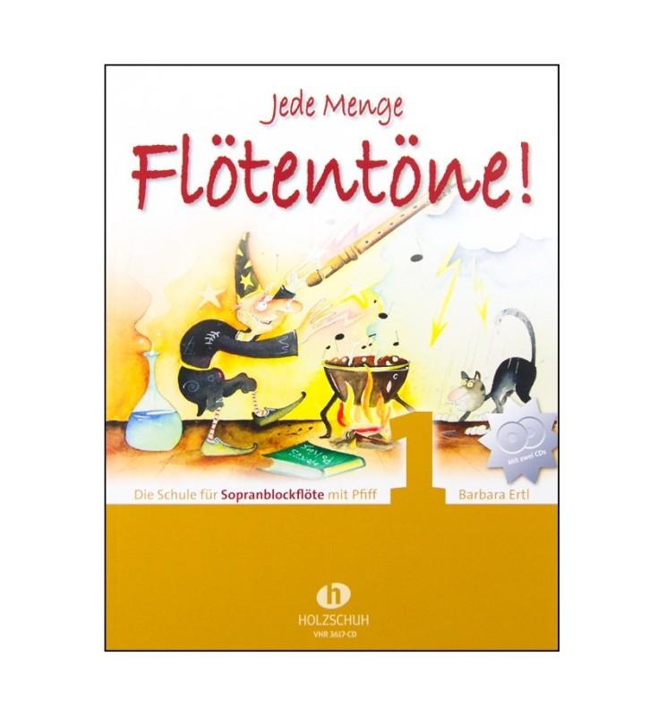 Notenheft Jede Menge Flötentöne