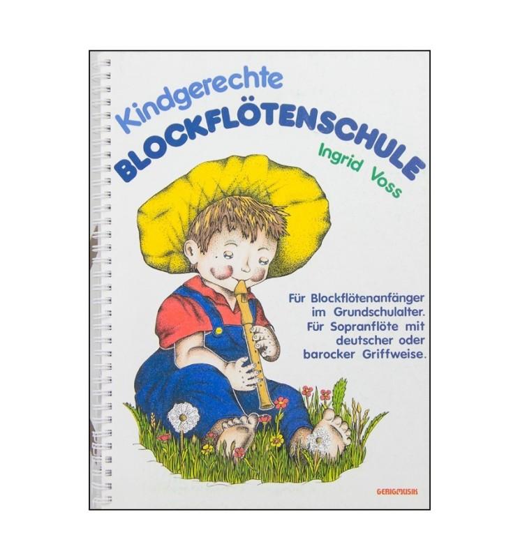 Notenheft Kindergerechte Blockflötenschule