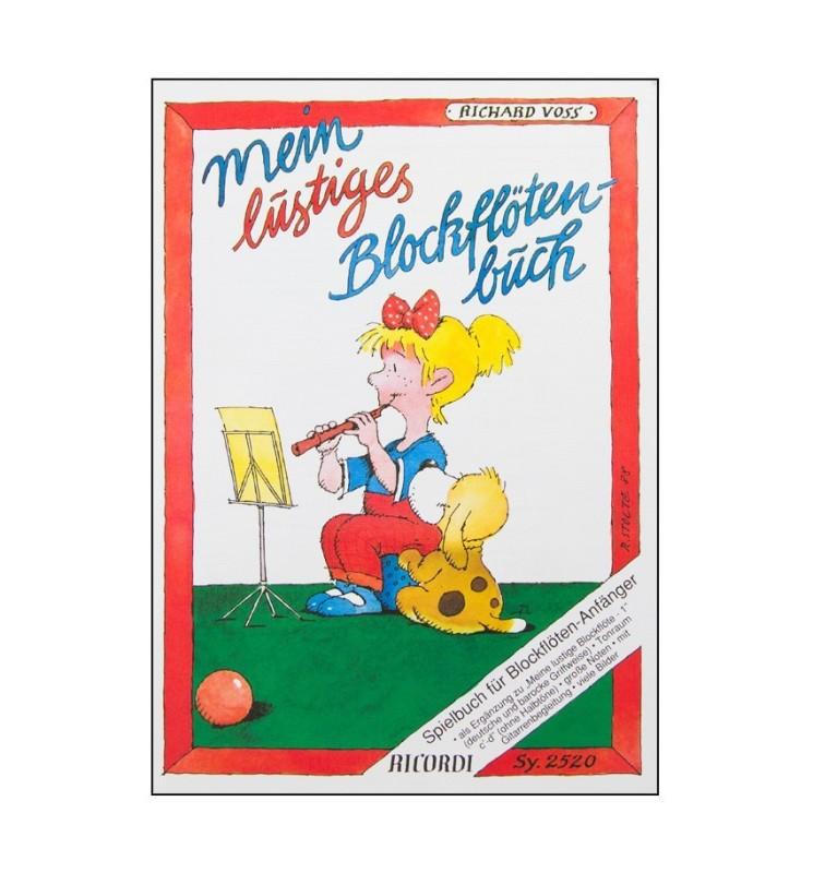 Notenheft -Mein lustiges Blockflötenbuch