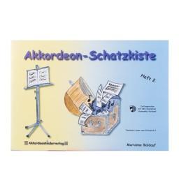 Notenheft -Akkordeon-Schatzkiste Heft 2