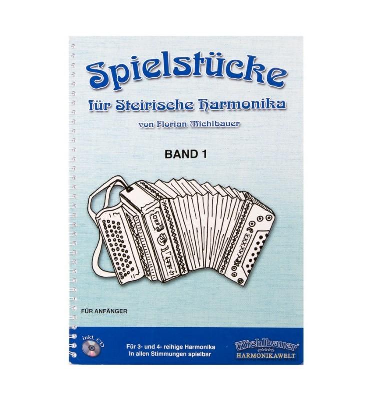 Notenheft - Spielstücke für Steirische Harmonika Band 1