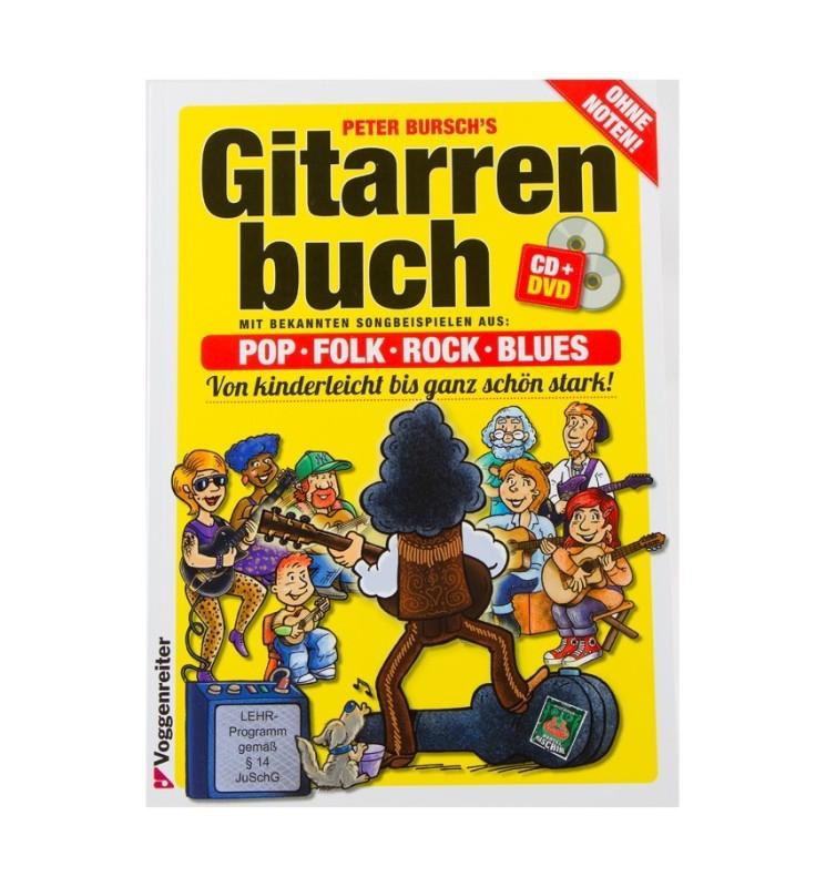 Notenheft - Das Gitarrenbuch