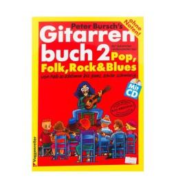 Notenheft - Das Gitarrenbuch Band 2