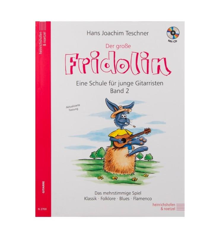 Notenheft - Der große Fridolin Band 2 mit CD