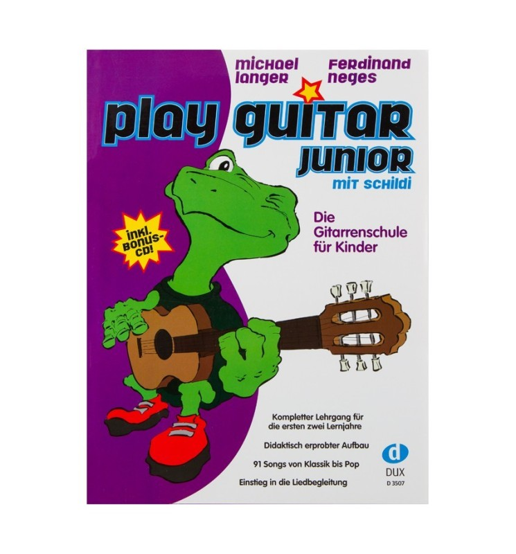 Notenheft - Play Guitar Junior mit Schildi