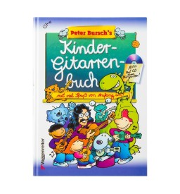 Notenheft - Kindergitarrenbuch mit CD