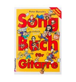 Notenheft - Songbuch für Gitarre mit CD