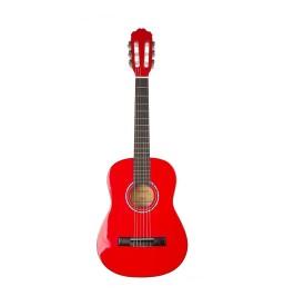 Konzertgitarre 1/2 Startone CG-851 rot