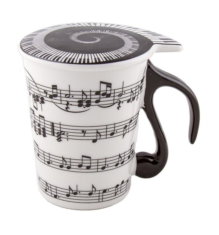 Kaffeetasse mit Deckel