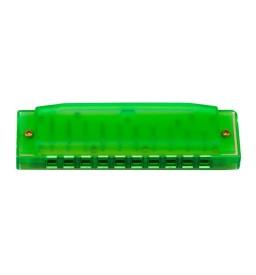 Mundharmonika Hohner Happy Color C-Stimmung grün