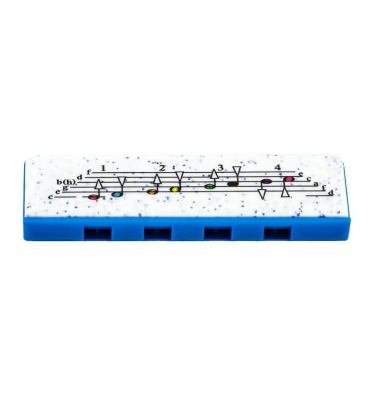 Mundharmonika Hohner Speedy C-Stimmung blau