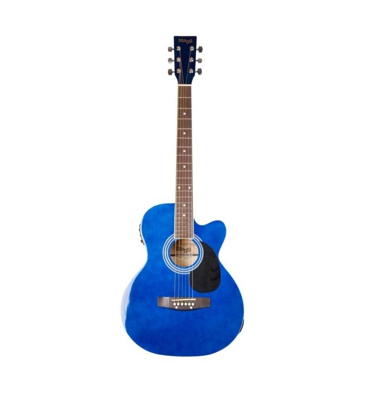 Westerngitarre 4/4 Stagg SA20A blau